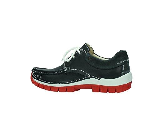 20210 Womens Wolky Jewel Anthrazit 3204 Sandals Leather Leder ZPXqdXwx