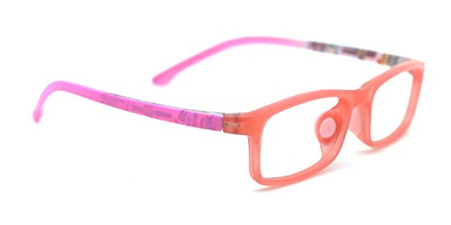 TIJN Classic Rectangle Frame Eye Glasses for Kids Children Age 5-8