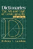 img - for Dictionaries: The Art and Craft of Lexicography by Sidney I. Landau (2001-04-30) book / textbook / text book