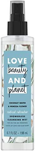Love Beauty And Planet Radical Refresher Cleansing Body Mist Coconut Water & Mimosa Flower 6.7 oz
