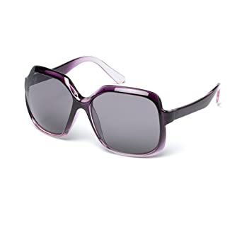 919e320c542f MUK Women's Domino Sunglasses Fig Frame with Smoke Lens MUK107763 One Size:  Amazon.co.uk: Clothing