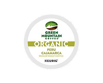 Green Mountain Coffee Organic Peru Cajamarca Coffee K-Cups