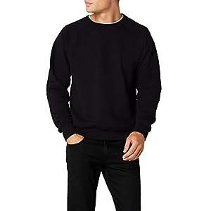 Geeney Mens Raglan Classic Long Sleeve Sweater