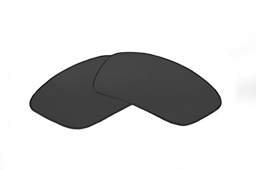 SFx Replacement Sunglass Lenses fits Spy Optics Lacrosse 62mm wide (Ultimate Black Hardcoated ()