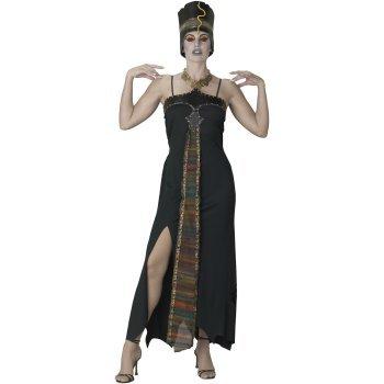 Egyptian Underworld Dark Queen Dress Costume Adult (Adult 10-12)