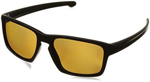 Oakley Men's Sliver OO9262-08 Polarized Rectangular Sunglass