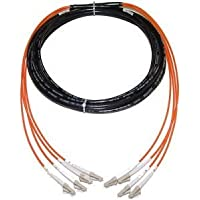RiteAV - Direct Burial Outdoor Fiber Cable 62.5/125 LC-LC 100M