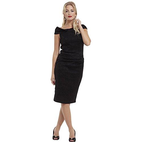 Voodoo-Vixen-Maisie-Lace-Overlay-Super-Stretch-Pencil-Dress-Black
