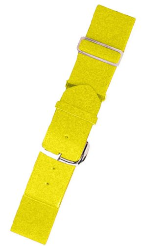 Yellow Uniform (Joe's USA Baseball/Softball Uniform Belts - All Colors and Sizes (Adult, Bright Yellow))