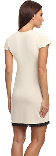 Merry Style Camisón para mujer Zoey Beige Claro (1121)
