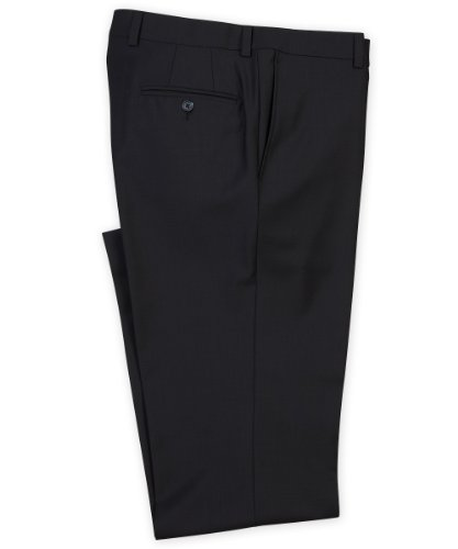 Jack Victor Pants (Riviera Traveler Flat Front Pant by Jack Victor - Navy, 32)