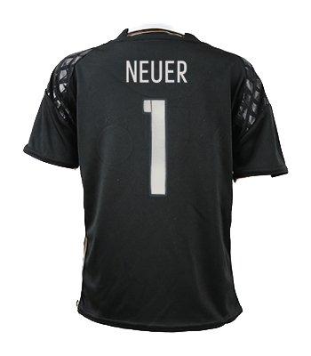 newest 20f6b 8cc8b Amazon.com : #1 Manuel Neuer Germany Home YOUTH Soccer ...