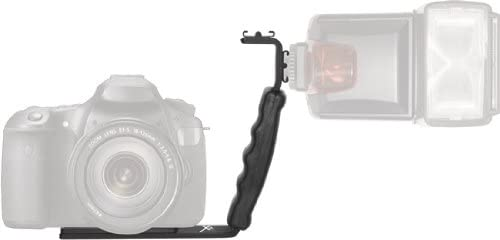 Dual Shoe Right Angle Flash Bracket 4 AA Battery Charger D600 D3X D70 D90 D800 D700 D4 Deluxe Accessories Kit for Nikon DF Digital Auto Power Zoom Auto-Focus Flash w//LCD Display f// Nikon D800E DSLR Camera D300S D300 D610