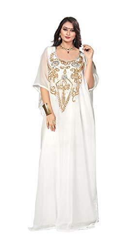 Arabic Dress For Ladies (KoC Women's Kaftan Maxi Dress Farasha Caftan)