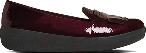 Sneakerloafer Fringey De Fitflop Zapatos Cereza Oscuro Dark Cherry
