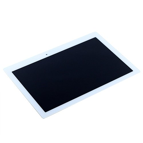 Touch Screen LCD Display Digitizer for Lenovo (White) - 5
