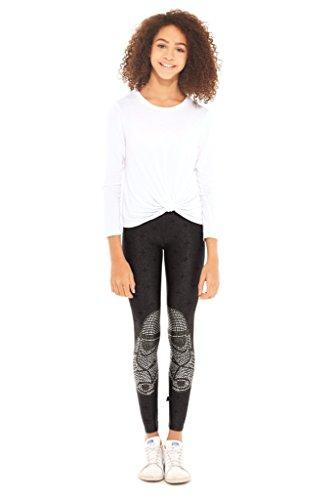 Terez Girls' Little Printed Legging, Star Wars Crystal Trooper 6 ()
