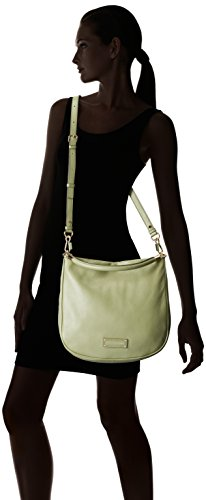 Marc Jacobs 'Too Hot To Handle' Light Rosemary Leather Hobo Handbag