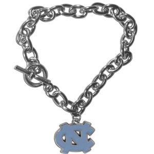 - NCAA North Carolina Tar Heels Charm Chain Bracelets, 7.5-Inch