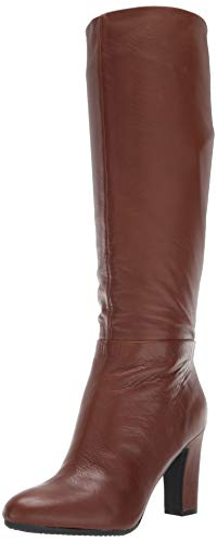 Aerosoles Women's Hashtag Knee High Boot, Brown Leather, 7.5 M US