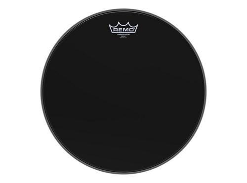 Remo ES001400 Ebony Ambassador Drum Head, (Black Tom Drum Head)