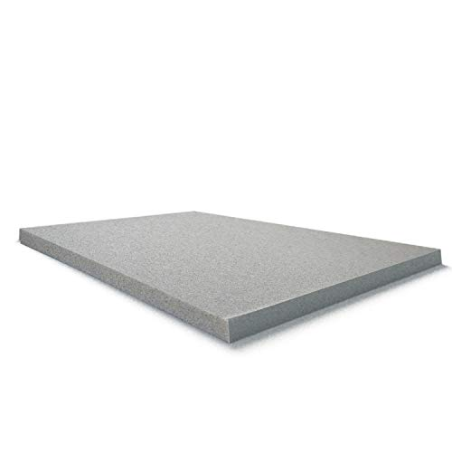 Ayer Comfort 3 Inch Copper Infused Memory Foam Mattress Topper- Antimicrobial- Made in The USA - King (Bedroom Usa Furniture Made In)