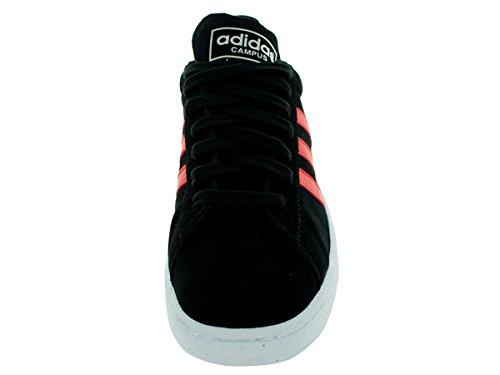 Adidas Originali Mens Campus Moda Sneaker Nero / Pomodoro / Bianco