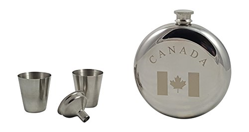 Canada Flask Gift Set by Palm City Products (Image #2)'