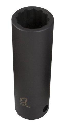 Sunex 267218 1/2-Inch Drive 18-mm 12-Point Deep Impact Socket [並行輸入品] B078XL3W3X