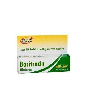 Bacitracin, With Zinc 1 oz. (Pack of 6) by First Aid Research