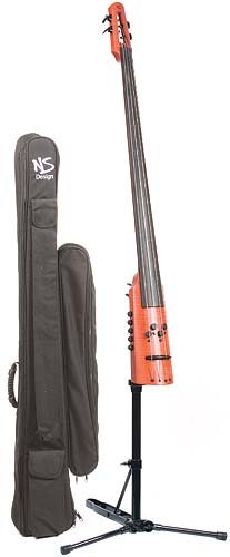 NS Design CR4M Electric 4-String Upright Double Bass with Magnetic Pick-Up by NS Design