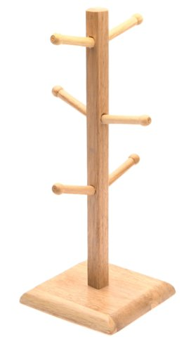 Norpro 7489 Wood Mug Rack ()