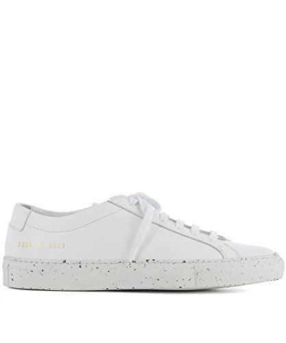 Common Projects Women's 38360547 White Leather Sneakers