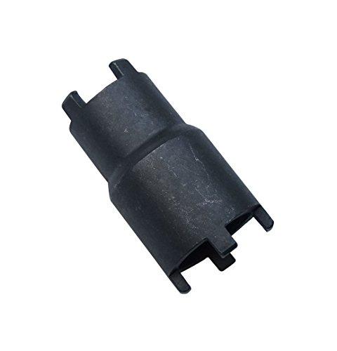 shamofeng 19mm 23mm Bipolar Clutch Hub Tool Clutch Lock Nut Spanner Wrench for 50cc 70cc 90cc 110cc 125cc Honda Taotao Roketa SSR ATV Dirt Bike