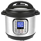 Instant Pot Nova Plus 6 Qt 9-in-1 Multi-Use Programmable Pressure Cooker, Slow Cooker, Rice Cooker, Crock Pot, Steamer, Sauté, Yogurt Maker and Warmer