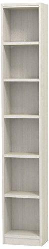 白井産業(SHIRAI) タナリオ オーダーラック 高さ180cm 幅21cm 奥行29cm ホワイトオーク 棚強度T 追加棚板2枚 TNL-EM18021MTF2WH2 B0145AGPVS ホワイトオーク|2 ホワイトオーク