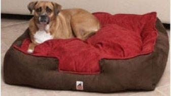 Extra grande perros cama para las Razas Grandes 42 in de TOA