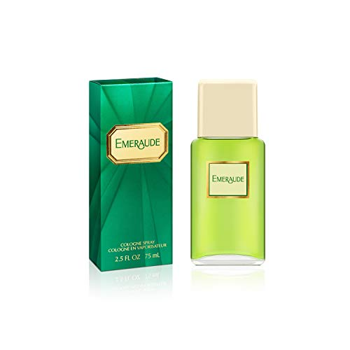 (Emeraude By Coty For Women Cologne Spray, 2.5 Ounce Perfume for Women, Classic Scent Makes a Great Gift for Women)