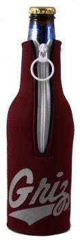 Montana Grizzlies Bottle (Montana Grizzlies Bottle Suit Koozie Huggie Cooler)