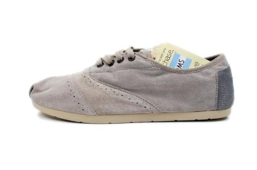 Amazon.com | TOMS Mens Cordones Suede Wingtip 005084a11-gwing 9 | Fashion Sneakers
