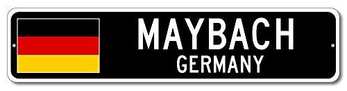 Germany Flag Sign - MAYBACH, GERMANY - German Custom Flag Sign - 6