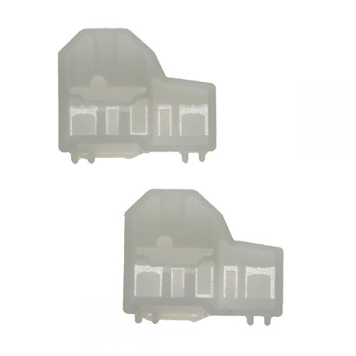 Window Channel Guides Clip Pair Set Front Right for Alero Grand Am Cutlass (Channel Right Window)