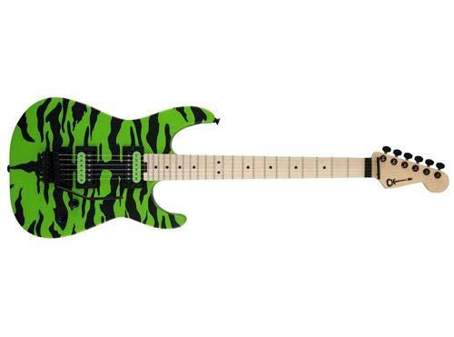Charvel Artist Series Satchel Signature Pro-Mod DK Electric Guitar (Slime Green Bengal)