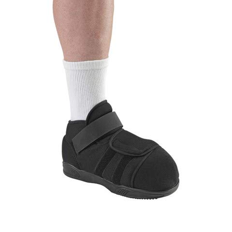 Ossur DH Offloading Post-Op Shoe for Plantar Wounds - Super Soft Nylon & Reinforced Heel Counter Provides Extra Comfort & Stability (Large)