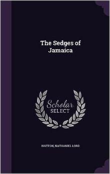 Book The Sedges of Jamaica