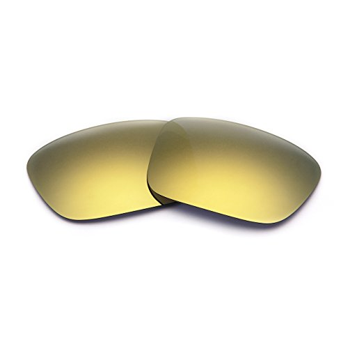 Polarized Replacement Sunglasses Lenses for Oakley Crankcase UV Protection Gold 09