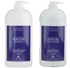 - Alterna Caviar DUO Moisture Shampoo 67.6 oz and Conditioner 67.6 oz
