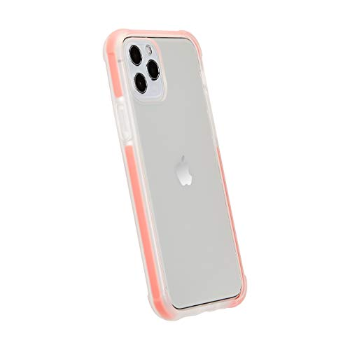 Amazon Basics iPhone 11 Pro Max Crystal Mobile Phone Case (Protective & Anti Scratch) – Red Accent