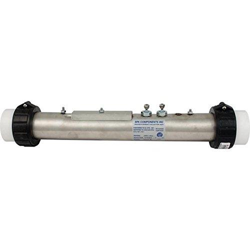 "Spa Components B24040E 15.5"" x 2"" 230V 4.0KW Heater Assembly"