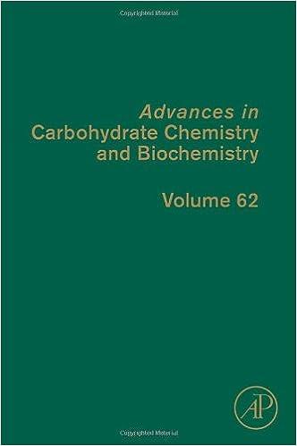Kindle Bücher herunterladen Advances in Carbohydrate Chemistry and Biochemistry, Volume 62 0123747430 in German CHM